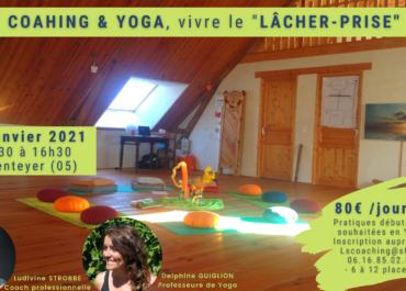 """Coaching & Yoga, """"Vivre le lâcher-prise"""" le 30 janvier 2021"""